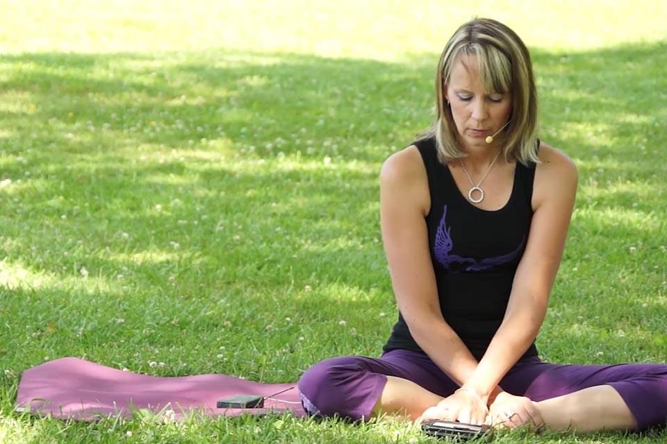 teacher yoga class